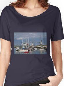 Falmouth Harbour and Docks Women's Relaxed Fit T-Shirt