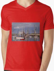 Falmouth Harbour and Docks Mens V-Neck T-Shirt