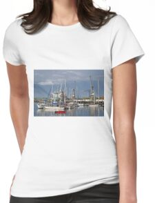 Falmouth Harbour and Docks Womens Fitted T-Shirt