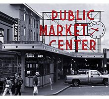 Pike Place Market Number 2, Seattle Photographic Print