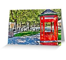 Arrowtown Greeting Card