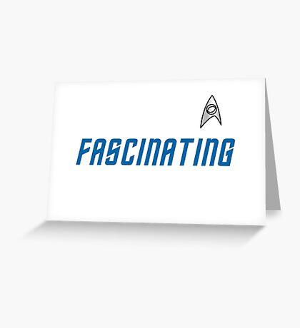 Fascinating Star Trek The Original Series Greeting Card