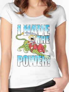 I HAVE THE POWER!!! Women's Fitted Scoop T-Shirt