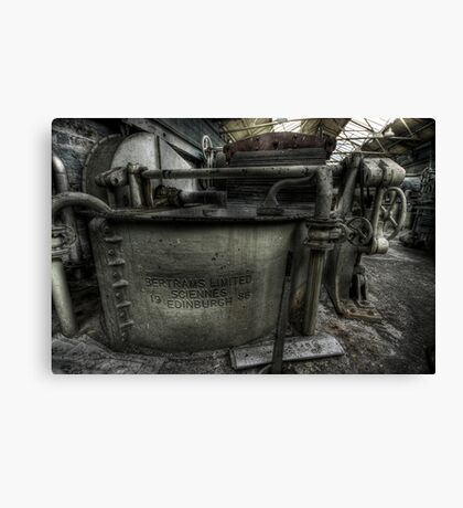 Roll on Canvas Print