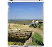 Taking In The View, from Newtown Quay iPad Case/Skin