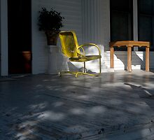 Yellow Chair by RollemFloyd