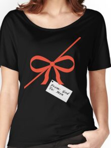 God's Gift To Men Tee Women's Relaxed Fit T-Shirt