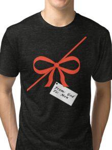 God's Gift To Men Tee Tri-blend T-Shirt