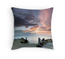 Amity Point, Stradbroke Island, Australia Throw Pillow