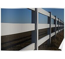 """"""" Long Fence"""" Poster"""