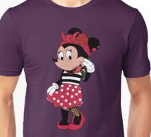Rockabilly Minnie Mouse Unisex T-Shirt