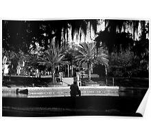 Fishing at Spring Bayou Poster