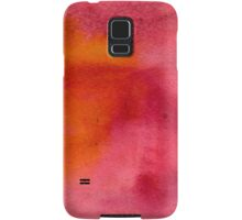 Abstract watercolor hand painted background Samsung Galaxy Case/Skin