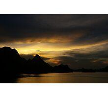 HaLong Sunset Photographic Print