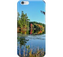Autumn at Lake Monomonac iPhone Case/Skin