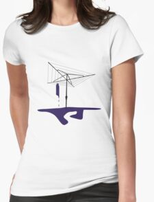 Hills Hoist Womens Fitted T-Shirt