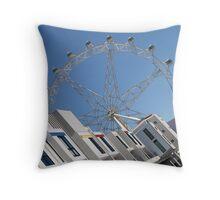 Docklands Melbourne Throw Pillow