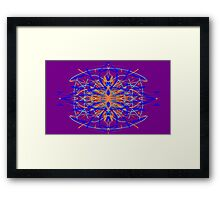 Fire from the Mirror Framed Print