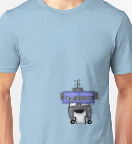 Robot Private Time  Unisex T-Shirt