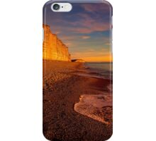 East Cliff Sunset Dorset 2 iPhone Case/Skin