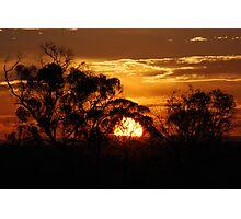 Sunset Berri 2 Photographic Print