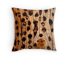 Holy NUTS Throw Pillow