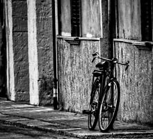 Lonely bicycle by Girolamo Cavalcante