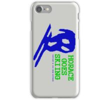 Horace Goes Skiing iPhone Case/Skin