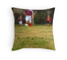 Tough Grass Throw Pillow