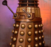 Gold Doctor Who Dalek from 2005 by ChrisBalcombe