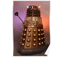 Gold Doctor Who Dalek from 2005 Poster
