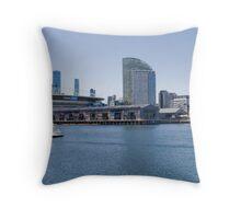 Docklands Throw Pillow