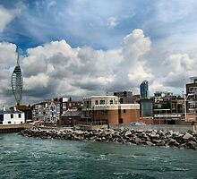 ENTERING PORTSMOUTH HARBOUR. #2 by ronsaunders47