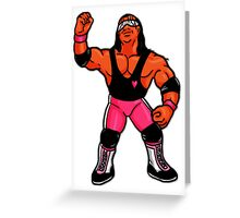 "Hasbro Bret ""Hitman"" Hart #2 Greeting Card"