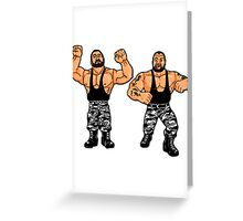 Hasbro Bushwhackers Greeting Card