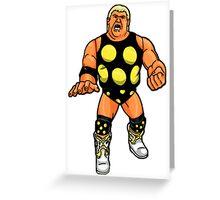 Hasbro Dusty Rhodes Greeting Card