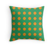 LINA goes Retro - grass Throw Pillow
