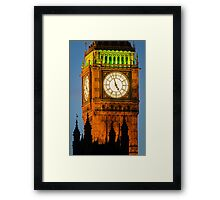 London, Big Ben Framed Print
