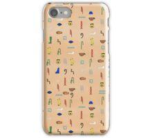 Hieroglyphic Alphabet iPhone Case/Skin