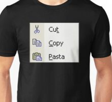 Cut Copy Pasta Unisex T-Shirt