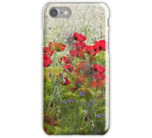Poppy Grunge  iPhone Case/Skin