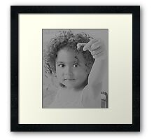 Here , for you Framed Print