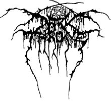 Darkthrone Logo - Black by Ranthrax