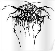 Darkthrone Logo - Black Poster