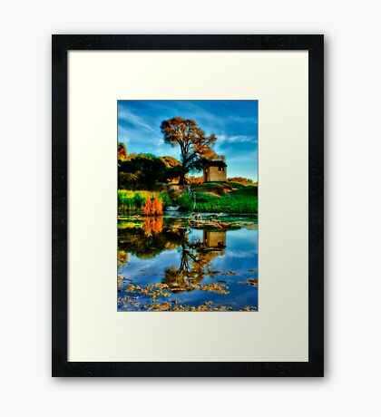 """Reflections of The Other Side"" Framed Print"
