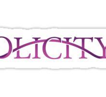 Olicity - Arrow Sticker