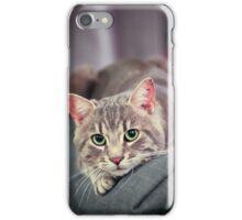 Curiosity killed the cat iPhone Case/Skin