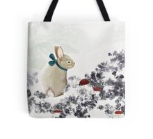 Mountain Rabbit Tote Bag