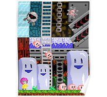 Retro 8-bit design Poster