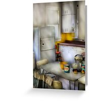 A 1960's Kitchen Greeting Card